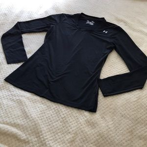 Under Armour Fitted HeatGear Long Sleeve Top